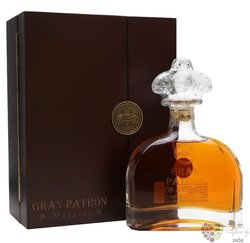 "Grand Patron "" Burdeos Extra Aňejo "" 100% of Blue agave Mexican tequila 40% vol.  0.70 l"