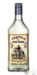 """888 Tres Ochos """" Blanco """" original Mexican tequila 38% vol.  0.70 l"""