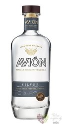 "Avion "" Silver "" 100% of Blue agave mexican tequila 40% vol.  0.70 l"