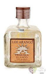 "los Arango "" Blanco "" 100% of Blue agave Mexican tequila 40% vol.   0.70 l"