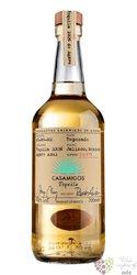 """CasAmigos """" Reposado """" pure agave Mexican tequila 40% vol.  1.00 l"""