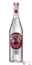 "Rooster Rojo "" Blanco "" 100% of blue agave Mexican Tequila 38% vol.  0.70 l"