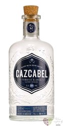 """Cazcabel """" Blanco """" pure agave Mexican tequila 38% vol. 0.70 l"""
