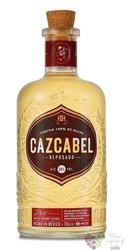 "Cazcabel "" Reposado "" pure agave Mexican tequila 38% vol. 0.70 l"