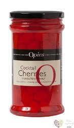 "Opies "" Red "" Maraschino flavour original coctail cherries    225 g"