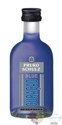 "Fruko Schulz "" Blue Curacao  "" Czech Curacao liqueur 24% vol. 0.05 l"