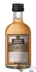 "Fruko Schulz "" Amaretto "" Bohemian almonds liqueur 25% vol. 0.05 l"