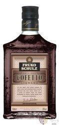"""Fruko Schulz """" Cofetto """" Bohemian cofee liqueur 20% vol.  0.50 l"""