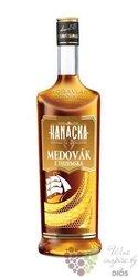 "Hanácká "" Medovák "" Moravian original spirit Starorežná Prostějov 33% vol.   1.00 l"
