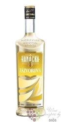 """Hanácká """" Zázvorová """" Moravian original spirit Starorežná Prostějov 33% vol.   1.00 l"""