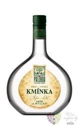 """Palírna u Zeleného stromu """" Kmínka """" herb liqueur Starorežná 30% vol.    0.50 l"""