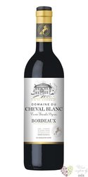 """Domaine du Cheval Blanc rouge """" cuvée Grande Vignes """" 2016 Bordeaux Aoc  0.75 l"""