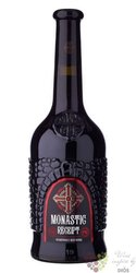 "Kagor "" Monastic Receipt "" Moldavian dessert wine by Bostavan  0.75 l"