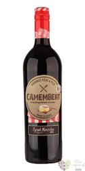 Camembert rouge Vin de France Gourmet Pére & Fils  0.75 l
