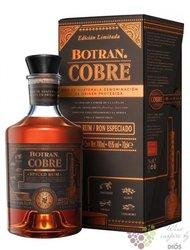 """Botran """" Cobre """" spiced rum of Guatemala 40% vol.  0.70 l"""