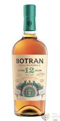 """Botran """" Sistema 12 Solera """" rel. 2020 aged rum of Guatemala 40% vol.  0.70 l"""