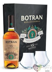 "Botran "" Solera 12 "" aged 12 years rum of Guatemala 40% vol.  0.05 l"