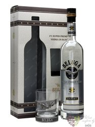 Beluga glass pack noble Russian vodka 40% vol.   0.70 l