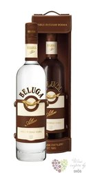 "Beluga "" Allure "" gift box noble Russian vodka 40% vol.   0.70 l"