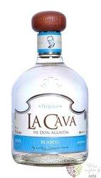 """la Cava de Don Agustin """" Blanco """" pure Blue agave Mexican tequila 38% vol.  0.70 l"""