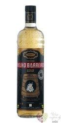"Velho Barreiro "" Gold "" Brasilian cachaca 39% vol.    0.70 l"