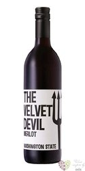 "Merlot "" Devil "" 2018 Washington State Ava Charles Smith  0.75 l"