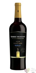 """Merlot """" Private Selection Rum cask """" 2018 Central coast Robert Mondavi  0.75 l"""