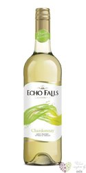 "Chardonnay "" Echo Falls  "" 2013 San Joaquin Valley Mission Bell winery  0.75 l"