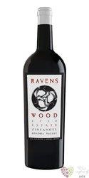 """Zinfandel """" Vintner´s Blend """" 2012 Sonoma county Ava Ravenswood    0.75 l"""