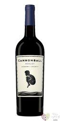 Merlot 2015 Sonoma county Ava Cannonball  0.75 l