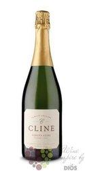 "Sparkling wine "" cuvée Nancy "" 2014 Sonoma coast Ava Cline cellars  0.75 l"
