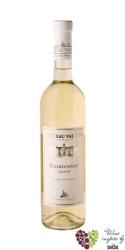 Chardonnay 2017 pozdní sběr Chateau Valtice  0.75 l