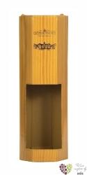 Kartonová krabička imitace dřeva 1 x 0.75 l s motivem vinařstí Vs Valtice