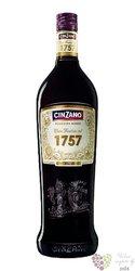 """Cinzano """" 1757 Rosso """" Italian classic flavours vermouth by gruppo Campari 15% vol.  1.00 l"""