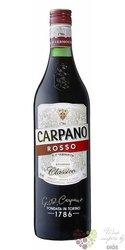 """Carpano """" Classico Rosso """" original Italian unico de Torino vermouth Fratelli Branca16% vol.  1.00 l"""