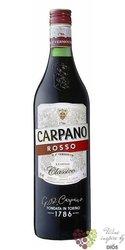 """Carpano """" Classico Rosso """" original Italian unico de Torino vermouth Fratelli Branca16% vol. 0.75 l"""