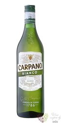 "Carpano "" Bianco "" original Italy unico de Torino vermouth by Fratelli Branca 15% vol.  1.00 l"
