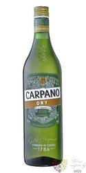"Carpano "" Dry "" original Italian unico de Torino vermouth Fratelli Branca 15% vol.  1.00 l"