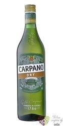 "Carpano "" Dry "" original Italian unico de Torino vermouth Fratelli Branca 15% vol.  0.75 l"