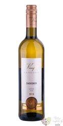 """Sauvignon blanc """" Klasik """" 2017 výběr z hroznů vinařství Vinofol  0.75 l"""