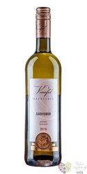 Sauvignon blanc 2016 pozdní sběr z vinařství Vinofol  0.187 l