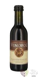 Svatovavřinecké 2015 pozdní sběr vinařství Vinofol  0.187 l