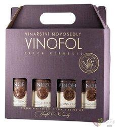 Mini set pozdních sběrů vinařství Vinofol 4x0.187l