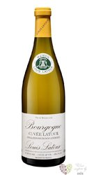 """Bourgogne blanc """" cuvée Latour """" Aoc 2014 maison Louis Latour  0.75 l"""