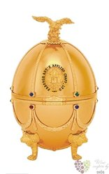 "Carskaja Imperial collection "" Gold egg by Carl Fabergé "" Russian vodka 40% vol. 0.70 l"