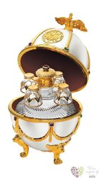 "Carskaja Imperial collection "" Pearl egg by Carl Fabergé "" Russian vodka 40% vol.    0.70 l"