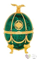 "Carskaja Imperial collection "" Emerald egg by Carl Fabergé "" Russian vodka 40% vol.    0.70 l"
