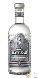 Carskaja premium Russian vodka 40% vol.     0.50 l