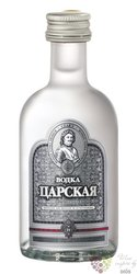 Carskaja premium Russian vodka 40% vol.     0.05 l