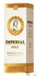"Carskaja "" Imperial gold "" premium Russian vodka 40% vol.  1.75 l"